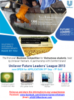 Unilever Future Leader\'s League 2013