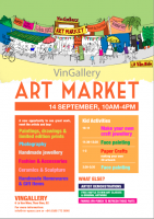 FFSC handicrafts @ VinGallery Art Market on Saturday September